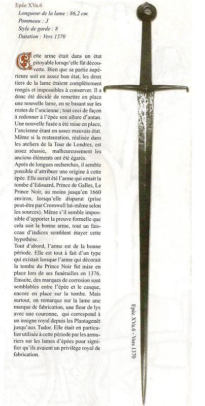 Invitation :TOURNOI Chateau de FAUCON NOIR 27 & 28 octobre 2012 (1vs1 et 5 vs 5 ) - Page 4 Epee-Edouard-III-1370-Thibaud-Pascual-1000%E2%82%AC