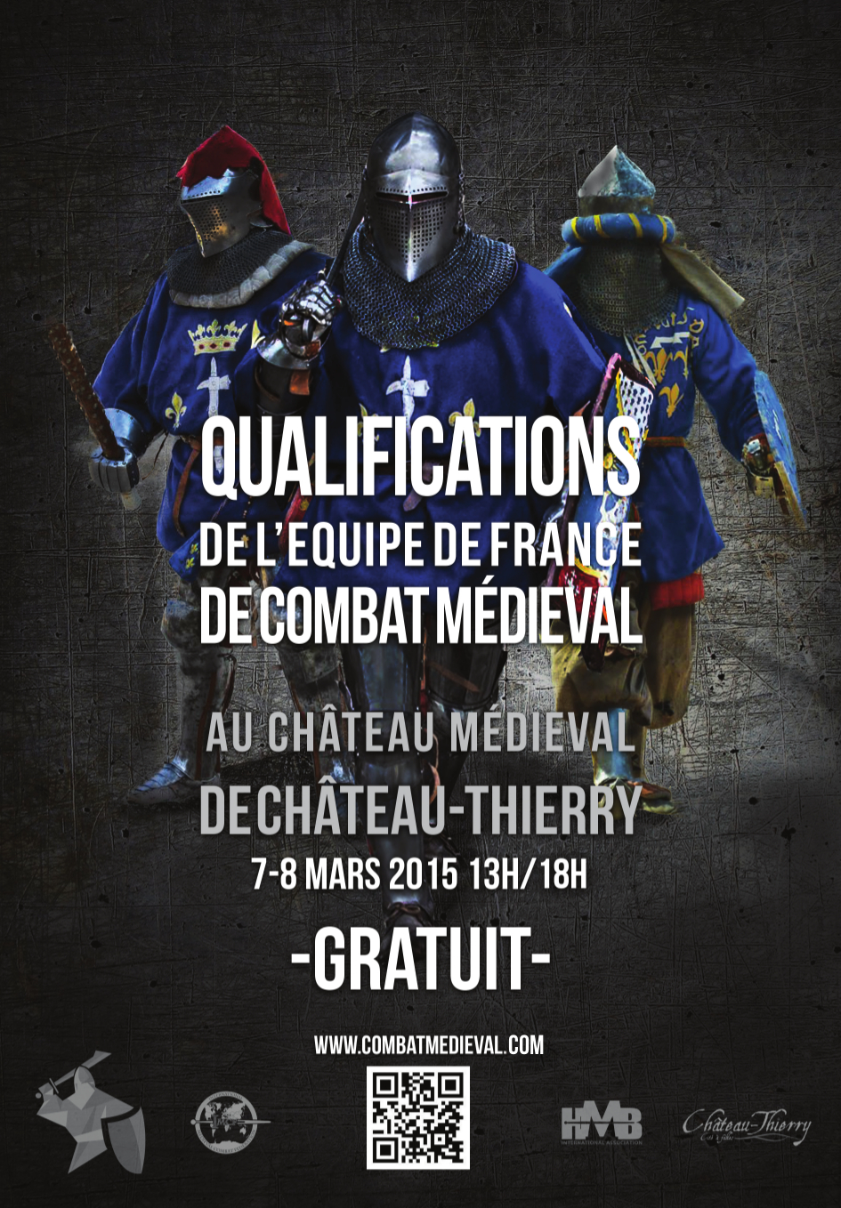 affiche qualifications CT 7 et 8 mars   Château Thierry   Inscription aux qualifications équipe de France 2015